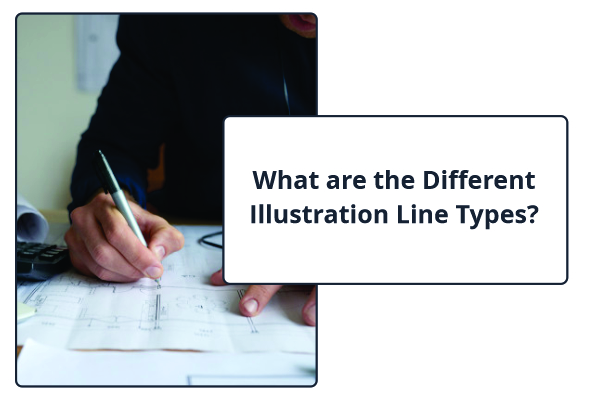 What are the Different Illustration Line Types?